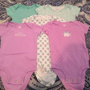 Carter's 6 month bodysuits